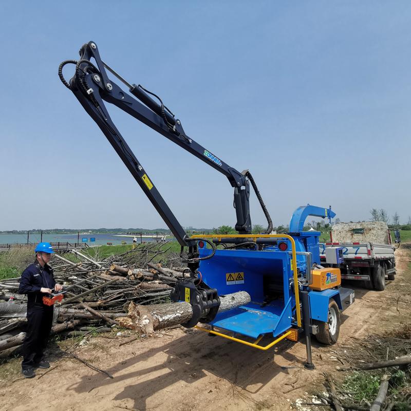 树木削片粉碎机QTG300